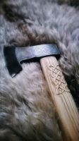 Viking axe with knotwork pattern by CopperContraptions