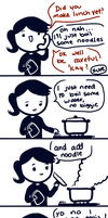 my noodles are on fire. by Marri-Yu