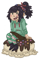 Vanellope by Cup-Kayke
