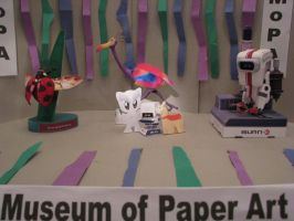 Museum of Paper Art by bluefootednewt