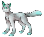 Chibi Canine Adopt (20 Points) CLOSED by Shadowhawk-Adopts
