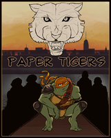 Paper Tigers : Ch1 Cover by Rradomile