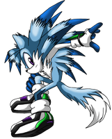 Necro the Hedgefox by LightningChaos2010