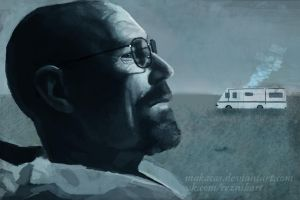 Walter White by Makacas