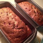Strawberry Banana Bread by Deathbypuddle