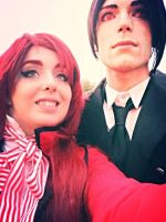 Sebastian and Grell by Shira-inochi