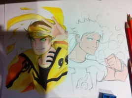 Preview Naruto/Ben 10 Crossover by Kapaychan