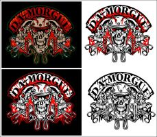DA-MORGUE Group Logo by deadspirit6