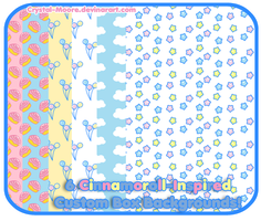 6 Cinnamoroll-Inspired Custom Box BGs by Crystal-Moore