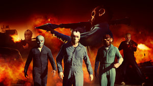 Grand Theft Auto V: The Heist by iFadeFresh