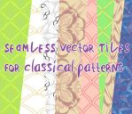 Classical vector patterns by martinacecilia