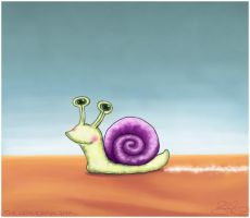 The Wonderful Snail by capsicum