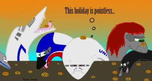 Happy (or should I say grumpy?) Thanksgiving! by 80jet