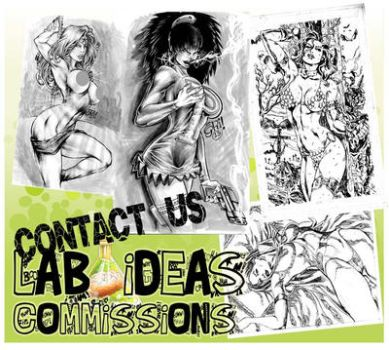 Commissions :) by lab-ideas