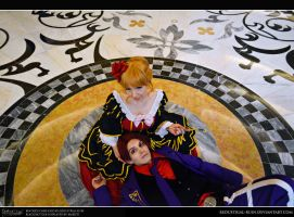 Umineko: Beatrice x Black Battler: Make Us Laugh by Redustrial-Ruin