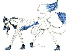 Sely Wolf by Oniookami