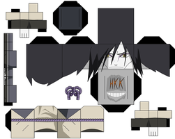 orochimaru by hollowkingking