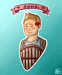Alistair is a Nerd by SharkyNoBarky