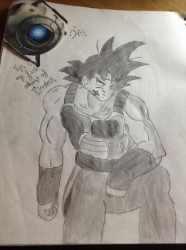Bardock (I'll have to redo it) by T4coCat