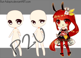 P2U Chibi Base by Ruri-Adopts