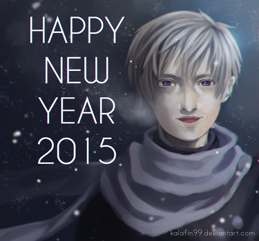 APH - Happy New Year 2015 by Kalafin99