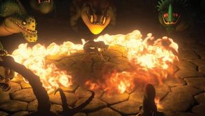 HTTYD 2: Surrounded by fire! by Lifelantern