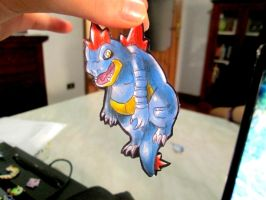 Paperchild 272.Pokemon#160 - Feraligatr by FuriarossaAndMimma