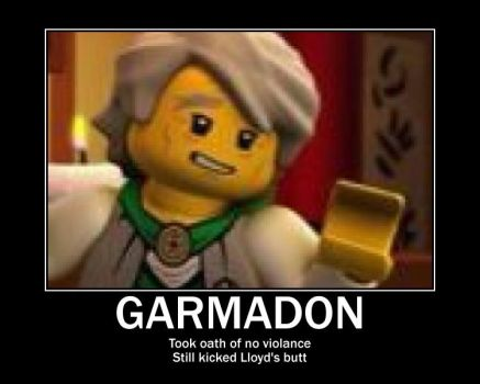 Sencei Garmadon by Geek-Girl-4Life