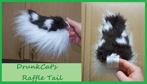 Drunkcat's tail by caffeinatedcrafts