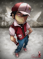 Trainer Red by TaraGraphic