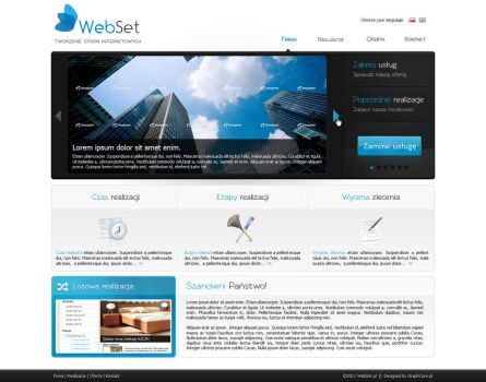 Layout for WebSet.pl by CargoDesign