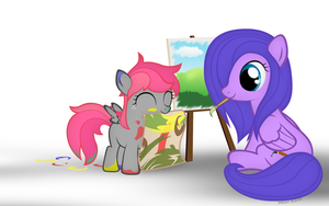 MLP#6 Candy Cloud and Arcana Pallette by SymbianL