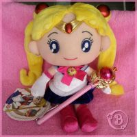 Sekiguchi - Sailor Moon Plush by Mclarengirl