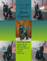 Custom Queen Chrysalis by AleximusPrime