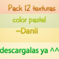 Pack 12 Texturas Paste ~Danii by danii0610