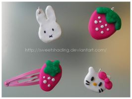 miffy-hello kitty-strawberry by SweetShading