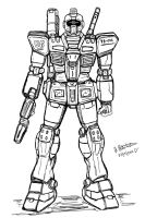 RGM-79 GM by archaznable30
