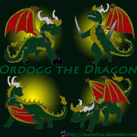Ordogg the Dragon wallpaper by Doomdrao