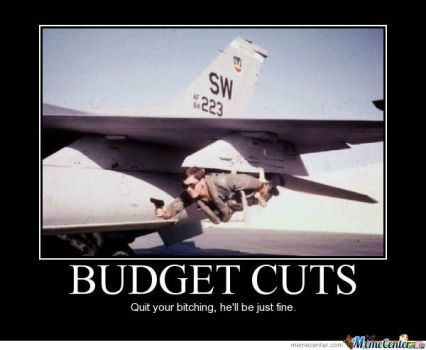 Budget cuts by boeingboeing2