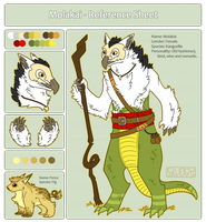 Molakia Reference Sheet 2013 by Sludgy