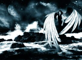 Angel of The Ocean by dreaminginred