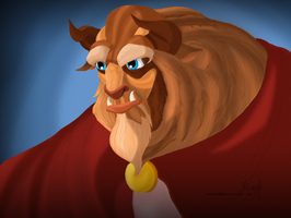 The Beast of Disney's Beauty and the Beast by drkay85