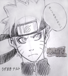 Sketch Naruto by XSol-StudiosX