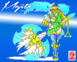 Mojito battle stance concept by DragoonTequila