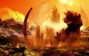 Gallifrey Burning by kleeng