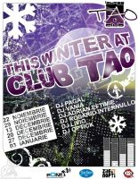 flyer Club TAO - This winter by semaca2005