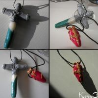 WitchHunterRobin Necklaces by seiyalover