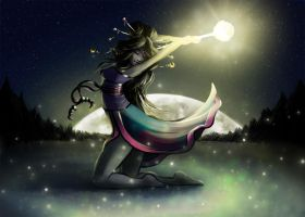Full Moon by Mirix