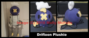Drifloon Plushie by Tez-Taylor