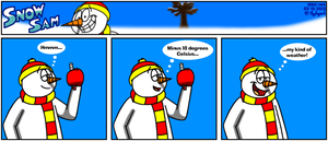 Snow Sam Comic 144 by BluebottleFlyer